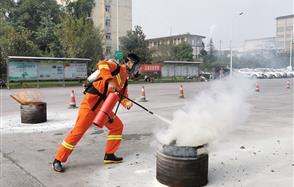 活动中锻炼队伍、竞赛中实战演练——川恒股份安全消防技能竞赛